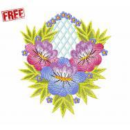 Floral Ornament, Free Design #f450