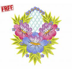 Floral Ornament, Free Design #f450