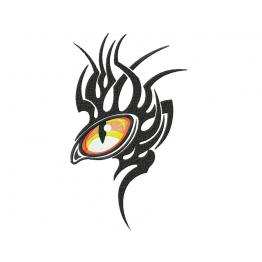 The eye of the Dragon. Machine Embroidery Design #0008