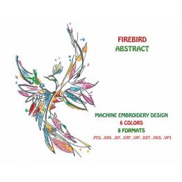Abstract Fire Bird #0023