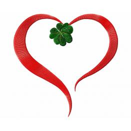 Jour de la Saint-Patrick. Coeur et Clover #0047