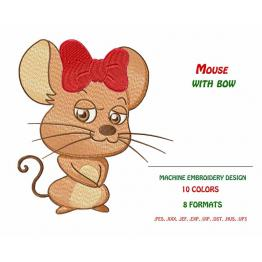 Mouse Bow Free Design #0048