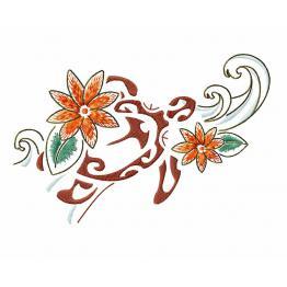 Polynesia turtle tattoo #0052