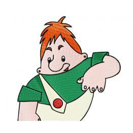 Cartoon character Carlson #0057