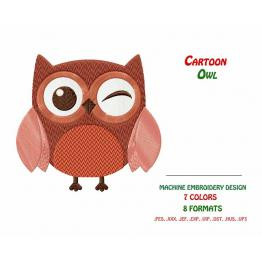 Owl. Free Embroidery Design #0061