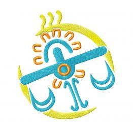 """Libra zodiac sign """"Aztecs"""" #0101"""