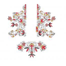 Ethnic ornament #0178