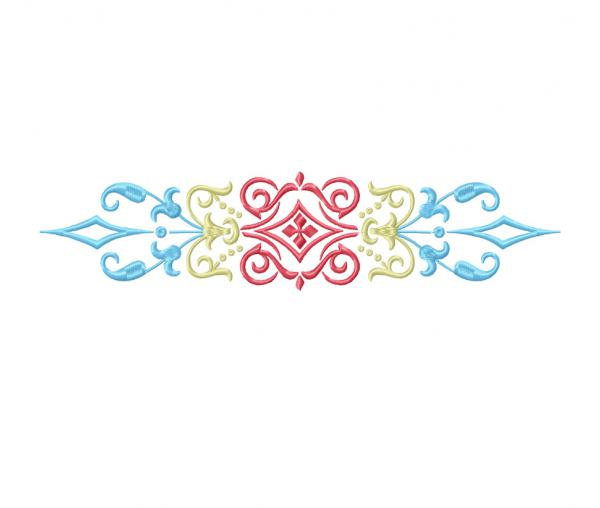 Decorative Ornament (Embroidery Design) #0193