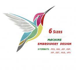 Птичка колибри #0503