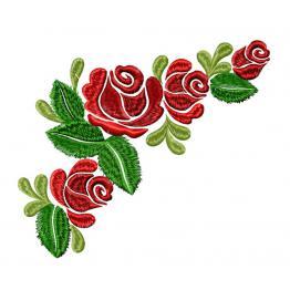 Букет, Роза чайная #0550
